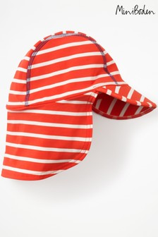 Boden Red Fun Swim Hat