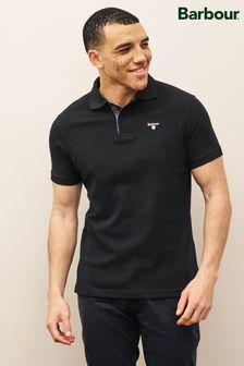 Barbour® Tartan Piqué Poloshirt