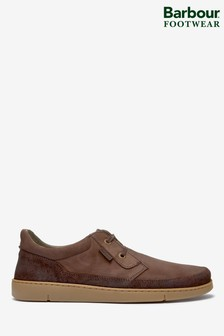 Barbour® Brown Glider Shoes