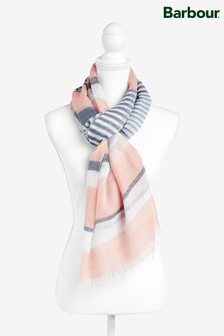 Barbour® Pink Striped Shoreside Scarf