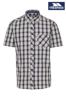 Trespass Blue Wackerton Male Shirt