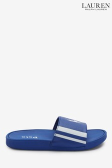 Ralph Lauren Blue Bensley Sliders