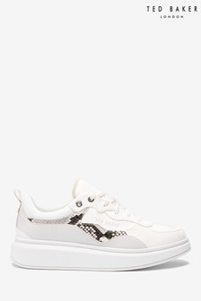 Ted Baker White Snake Dad Trainers