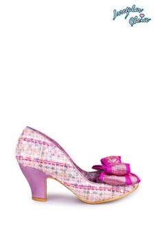 Irregular Choice Pink Ban Joe Medium Heel Shoes