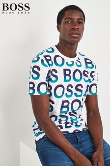 BOSS White Over T-Shirt