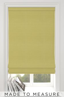 Jasper Sorbet Yellow Made To Measure Roman Blind