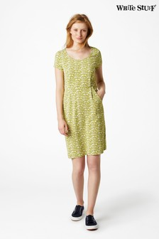 White Stuff Green Rockpool Dress