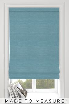 Jasper Teal Green Made To Measure Roman Blind