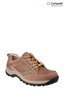 Cotswold Tan Nailsworth Lace-Up Shoes