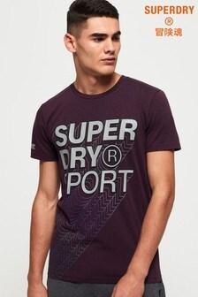 Superdry Core Gradient Graphic T-Shirt