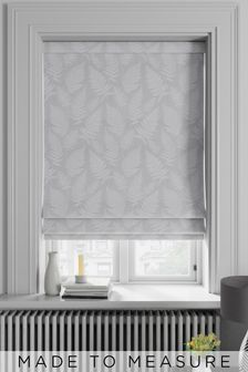 Silver Clarissa Made To Measure Roman Blind