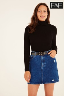 F&F Indigo Denim Skirt