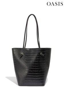 Oasis Black Hatty Tote Bag