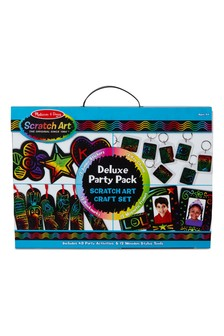 Melissa & Doug Scratch Art Deluxe Party Pack
