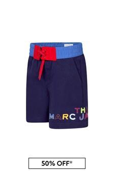 Marc Jacobs Boys Blue Swim Shorts