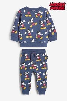 Комплект: свитер с круглым вырезом горловины и спортивные штаны Mickey Mouse™ (3 мес.-8 лет)