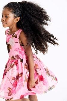Rose Print Dress (3-16yrs)