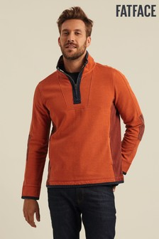 FatFace Brown Airlie Pocket Sweater