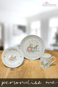 Personalised Hello Little One Breakfast Set by Signature PG