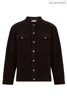 AllSaints Taupe Castelford Corduroy Overshirt