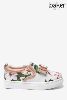 Baker By Ted Baker Opal Floral Slip-Ons