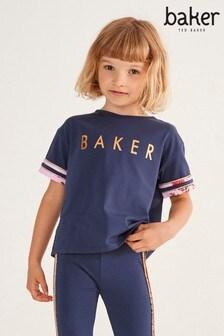 Baker by Ted Baker Girls Logo T-Shirt
