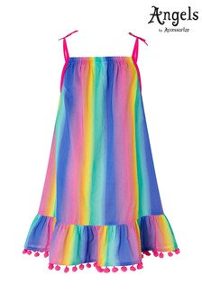 Angels by Accessorize Purple Ombre Rainbow Dress