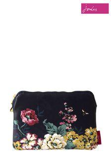 Joules Floral Zip Pouch