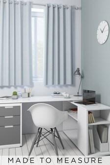 Jameson Sky Blue Made To Measure Curtains
