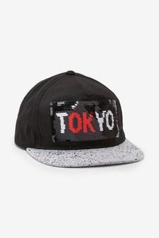 Tokyo Flippy Sequin Cap (Older)
