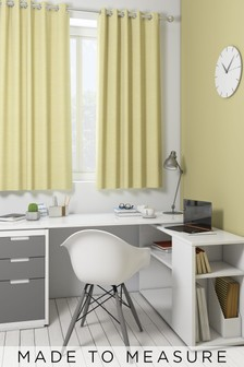 Jameson Sorbet Yellow Made To Measure Curtains