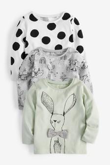Bunny 3 Pack T-Shirts (3mths-7yrs)