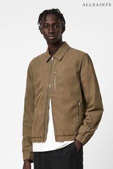 AllSaints Khaki Porter Blouson Jacket