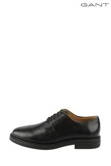 GANT Black Fargo Low Lace Shoes