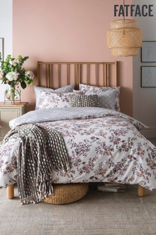 FatFace Floral Bird Duvet Cover and Pillowcase Set
