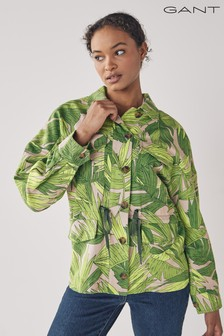GANT Foliage Green Palm Breeze Field Jacket