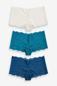 Lace Knickers Three Pack