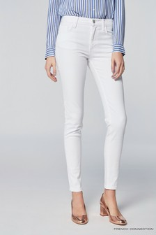 French Connection White Skinny Jean
