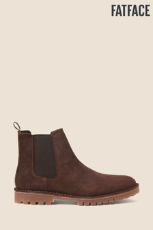 FatFace Brown Corby Chelsea Boots