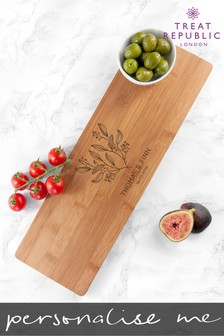 Personalised Happy Couple Serving Board by Treat Republic