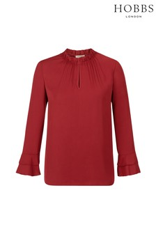 Hobbs Red Tina Top