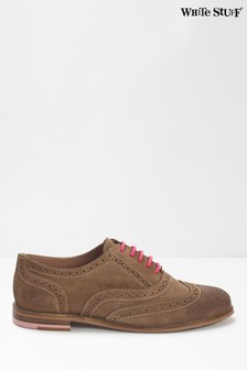 White Stuff Natural Adele Lace-Up Brogues
