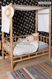 Childhome Super Soft Leopard Print Duvet Cover and Pillowcase Set