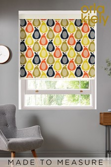 Scribble Pear Made To Measure Roller Blind by Orla Kiely