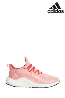 adidas Run Pink AlphaBoost Trainers