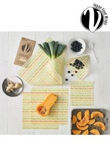 Set of 5 Dexam Large Vegan Food Storage Wraps