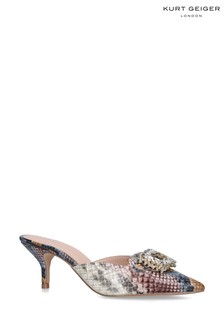 Kurt Geiger London Animal Snake Print Shoes