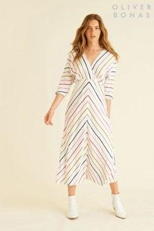 Oliver Bonas Stripy Day Dress