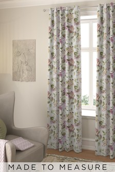 Judson Summer Pink Made To Measure Curtains
