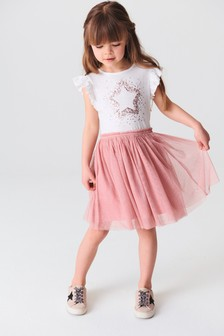Sequin Star Tutu Dress (3-16yrs)